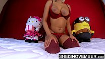 7728 Black Nipples Big Areolas Natural Titties On Skinny Young Babe Msnovember Squeezing Her Saggy Breasts Hard , Large Round Brown Tits Bouncing On Busty Chest Close Up With Smooth Skin On Cute Spinner 4k Sheisnovember preview