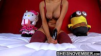 7129 Black Nipples Big Areolas Natural Titties On Skinny Young Babe Msnovember Squeezing Her Saggy Breasts Hard , Large Round Brown Tits Bouncing On Busty Chest Close Up With Smooth Skin On Cute Spinner 4k Sheisnovember preview
