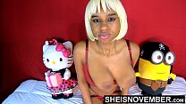 17660 Black Nipples Big Areolas Natural Titties On Skinny Young Babe Msnovember Squeezing Her Saggy Breasts Hard , Large Round Brown Tits Bouncing On Busty Chest Close Up With Smooth Skin On Cute Spinner 4k Sheisnovember preview