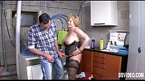 Mature German W hore Gets Titty Fucked  Fucked