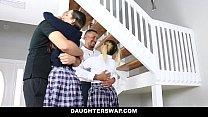 DaughterSwap - Naughty School Girls Fucked By O...