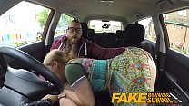 Fake Driving School Learners post lesson horny orgasm fuck session pornhub video