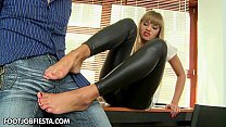 Foot fetish and anal act Willa [발 페티시 foot fetish]