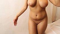 natural nude model suspender