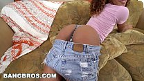 BANGBROS - Black Pornstar Kendall Woods Fucks For Our Troops (bkb15504) thumbnail