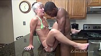 Camel Toe Kitchen - Milf Gets Facial pornhub video