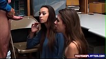 Sweet teen pair Charity Crawford and Zoey Lane ...
