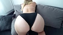 Girl with a big ass fucks after a shower preview image