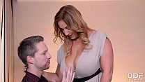 Professor fucks his Naturally Busty Wife before... Thumbnail