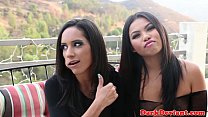Femdom Cindy Starfall demands oral from babe