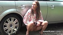 12062 Naughty teens taking hot piss in public preview