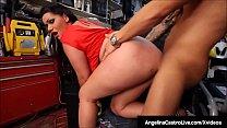 Cuban Porn Queen Angelina Castro Sucks & Fucks ...