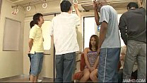Japanese sweetheart Mizuki Iori abused on the s...