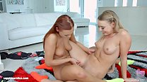 Danielle Soul and Ornella Morgan in lesbian scene by SapphiX