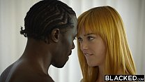 BLACKED German Teen Anny Aurora gets Monster Black Cock video
