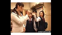Japaneses schoolgirls dominated