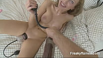 Horny Chick amateur likes take huge dick in wth...