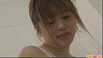 Naughty Babe No riko Teasing And Pussy Fondlin d Pussy Fondling In The Bathroom