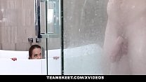 ExxxtraSmall - Fucking My Step-Bro In The Bathroom (Esperanza Del Horno)