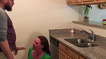 Anal Surprise For Pregnant Milf In Kitchen Step