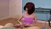 teen-Cute teen POV handjob preview image