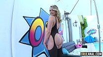 TRUE ANAL Bubble butt Mia Malkova anally gaped Preview
