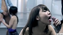 JAV taboo casting mother and daughter with cumshot Subtitles