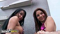 BANGBROS - Colombian Sex Spa With Samy, Paola & Brick Danger! - 69VClub.Com