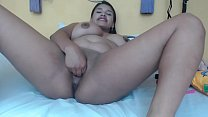 Amateur Latina from Colombia does it all