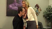 MILF Julia Ann Gets Her Step Son's Cum While He