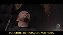 XCHIMERA - Sensual fantasy sex with beautiful Ukrainian brunette babe Sybil thumbnail