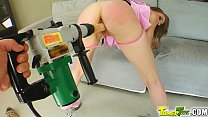 Tamed Teens Fresh ripe pussy gets tapped and ta...