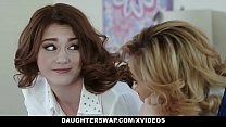 DaughterSwap - Two Hot Daugthers Get Fucked By ... Thumbnail