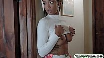 Screenshot Ebony teen snea ks on her bro and fucked nd fucked