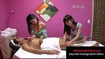 Two sexy Thai girls do amazing massage - asian massage parlor video pornhub video