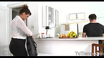 Shemale maid gets her asshole slammed video