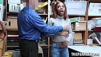 Ebony Teen Thief Sarah Banks Caught Stealing St...