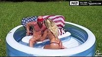 Kissa Sins Twerking and Sucking Johnny Sins Big Cock thumbnail