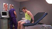 Gay Doctor Sucking Off His Handsome Patient