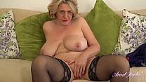 AuntJudys   Busty BBW Bombshell Camilla Gives JOI