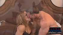 First time swingers get with another couple in a foursome thumbnail