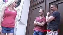 Wild Milf Cindy Sun gets double anal training and Loves it thumbnail