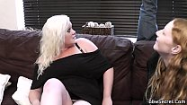 11598 She finds him cheating with busty blonde preview