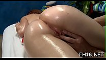 Nice-looking drilled hard by her massage therapist