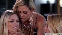 Pervy Stepmom Seduces Lesbian Young Daughter   LesbianCums.com