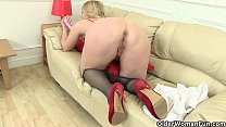 British milfs Lucy Gresty and Lily May taking c...