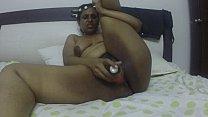 Horny South Indian naked and masturbating