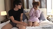 Fresh teen, Sae Sakamoto cheated on her boyfriend all day