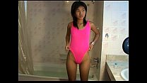 Petite Titty Thai teen Zoe 18 sucks & showers t... - download porn videos