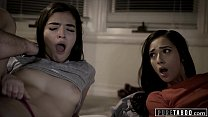 PURE TABOO Step Sisters Threesome With Dirty St